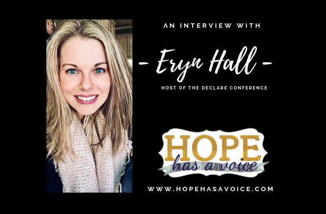 Eryn Hall – Host of Declare – Out of the Prison