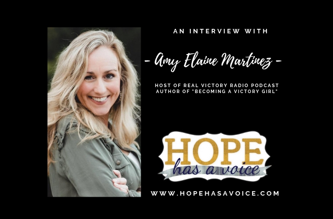 "Amy Elaine Martinez – Host of Real Victory Radio – ""That's not who you are"" EP9"