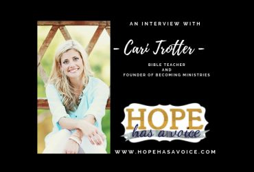 """Cari Trotter – Founder of Becoming Ministries – """"Here for it!"""" EP8"""