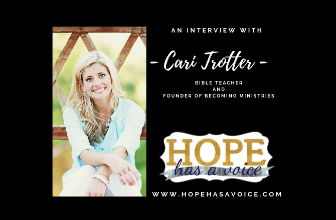 "Cari Trotter – Founder of Becoming Ministries – ""Here for it!"" EP8"